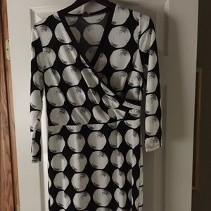 Black and white dress by The Limited